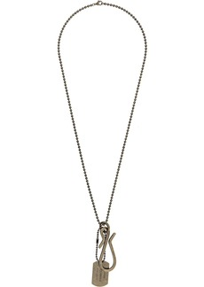 Dsquared2 dog tag necklace