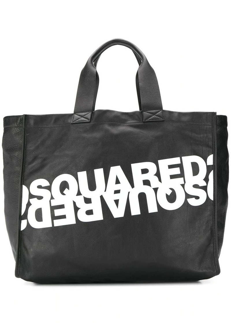 Dsquared2 double logo shopping tote