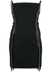 Dsquared2 double zip mini dress