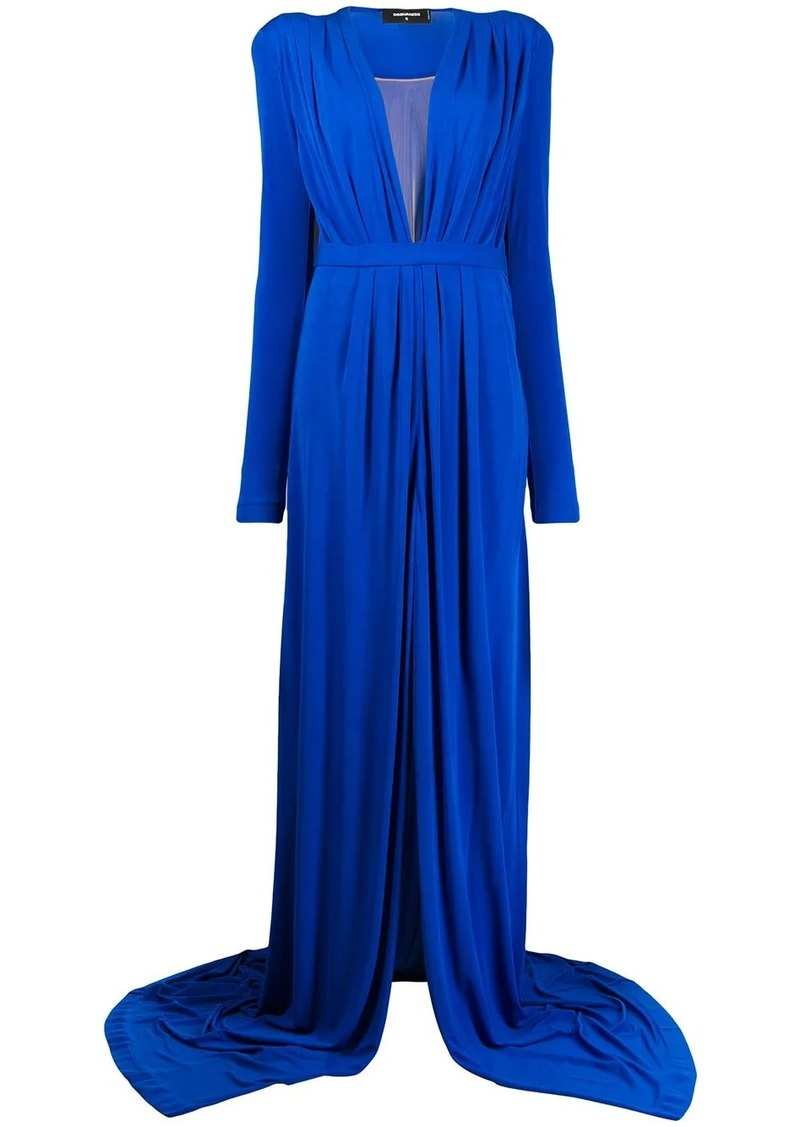 Dsquared2 draped long dress