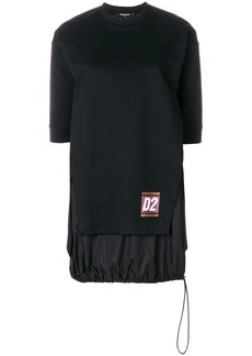 Dsquared2 drawstring hem dress