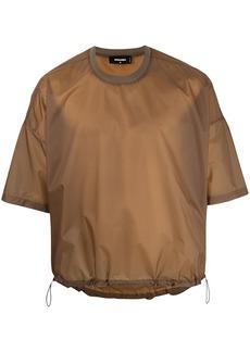 Dsquared2 drawstring hem T-shirt