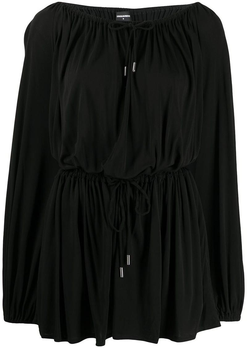 Dsquared2 drawstring mini dress