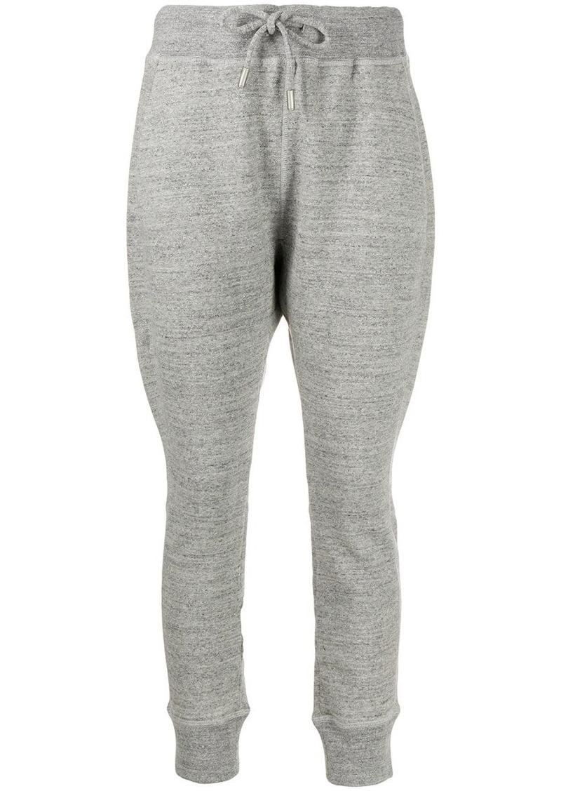 Dsquared2 dropped-crotch logo track pants