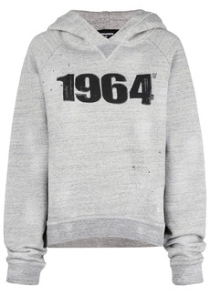 Dsquared2 1964 hoodie - Grey