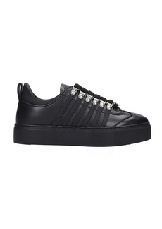Dsquared2 251 Sneakers In Black Leather