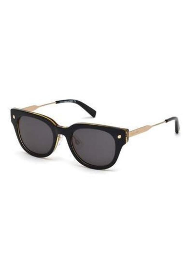 Dsquared2 Aaron Square Plastic/Metal Sunglasses