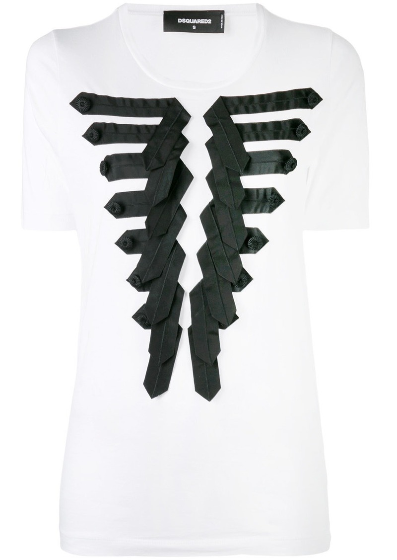 Dsquared2 appliqué T-shirt