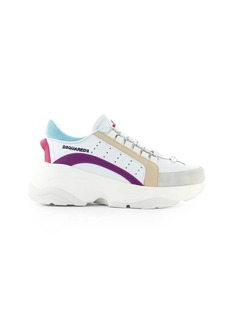 Dsquared2 Bumpy 551 White Purple Beige Sneaker