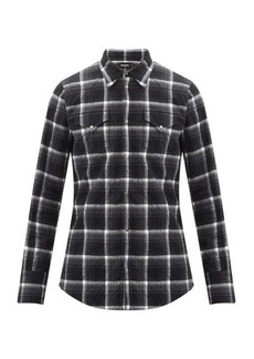 Dsquared2 Checked cotton-flannel shirt