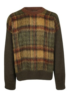 Dsquared2 Checked Knit Sweater