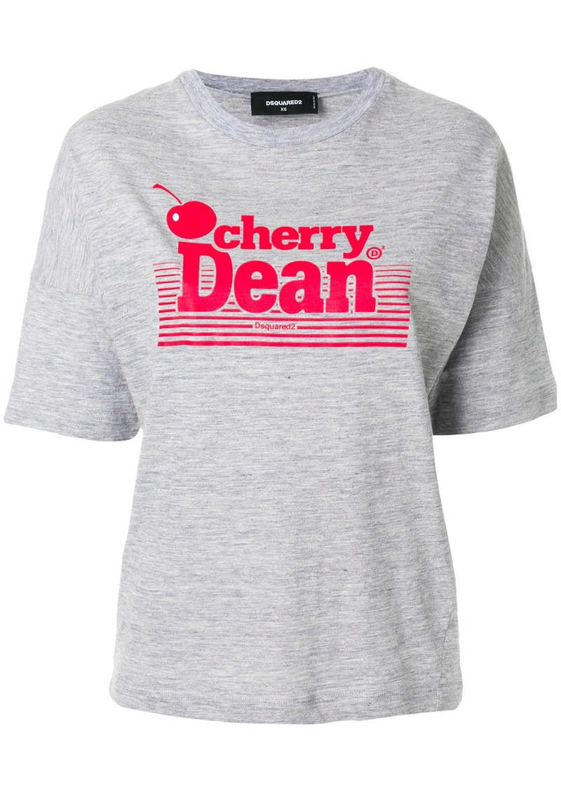 Dsquared2 Cherry Dean printed T-shirt