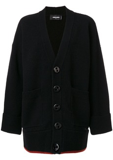 Dsquared2 chunky buttoned cardigan - Black