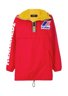 Dsquared2 contrast colour windbreaker
