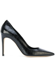 Dsquared2 croc effect pumps - Black