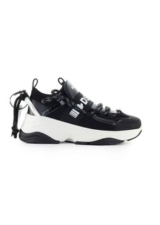 Dsquared2 D Bumpy One Black Silver Sneaker