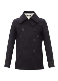 Dsquared2 Double-breasted wool-blend peacoat
