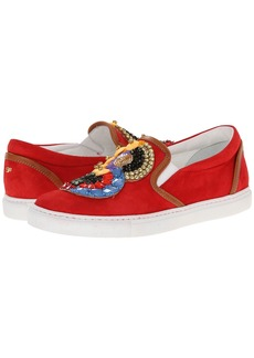 DSQUARED2 Embroidered Slip-on Sneaker
