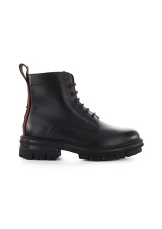 Dsquared2 Evolution Tape Black Leather Boot