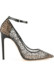 Dsquared2 flocked mesh pumps - Black