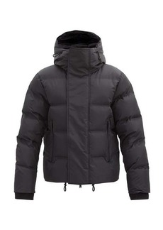 Dsquared2 Funnel-neck quilted-shell jacket