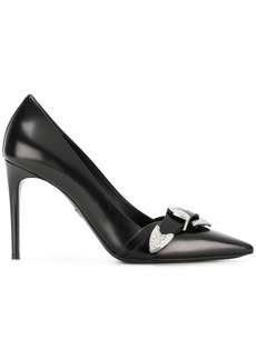 Dsquared2 Gothika Abrasivato pumps - Black