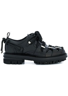 Dsquared2 Hiking brogue shoes - Black