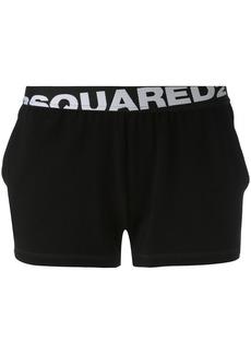 Dsquared2 logo band shorts - Black