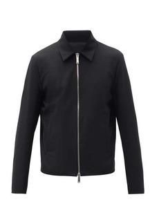 Dsquared2 Logo-cuffs zipped jacket