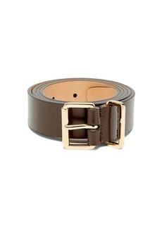 Dsquared2 Logo-debossed leather belt