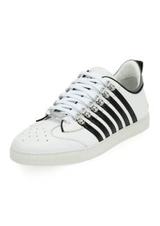 Dsquared2 Men's Low-Top Contrast-Stripe Sneakers