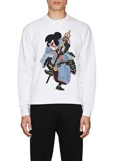 DSQUARED2 Men's Graphic-Print Cotton Fleece Sweatshirt