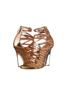 DSQUARED2 Metallic Strappy Wedge Sandal