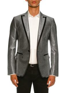 Dsquared2 Mini Check Metallic Dinner Jacket