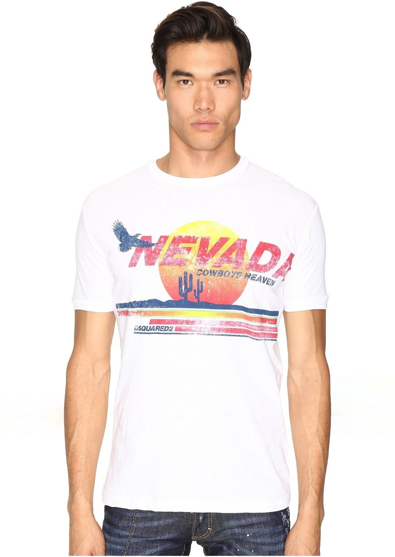7d6c2d1c973f SALE! Dsquared2 DSQUARED2 Nevada Cowboy Heaven T-Shirt