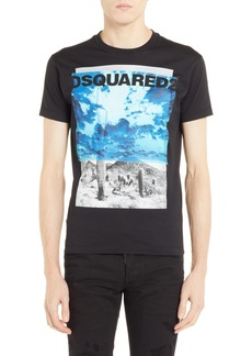 Dsquared2 Picture Graphic T-Shirt