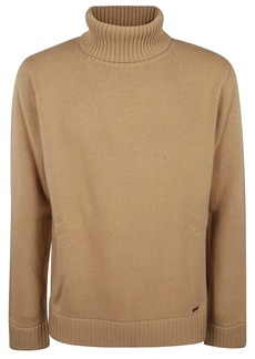 Dsquared2 Ribbed Turtleneck Sweater