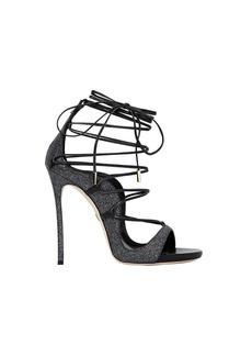 Dsquared2 Riri Black Glitter Heeled Sandal