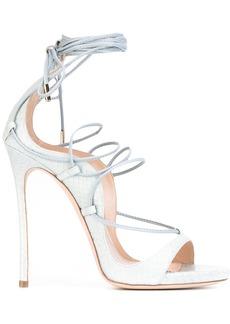 Dsquared2 Riri lace-up sandals - Blue