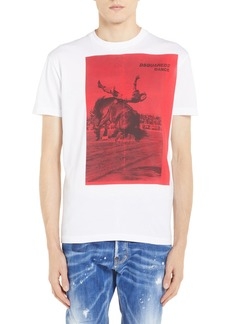 Dsquared2 Rodeo Graphic T-Shirt
