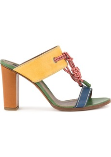 Dsquared2 rope detail sandals - Yellow & Orange