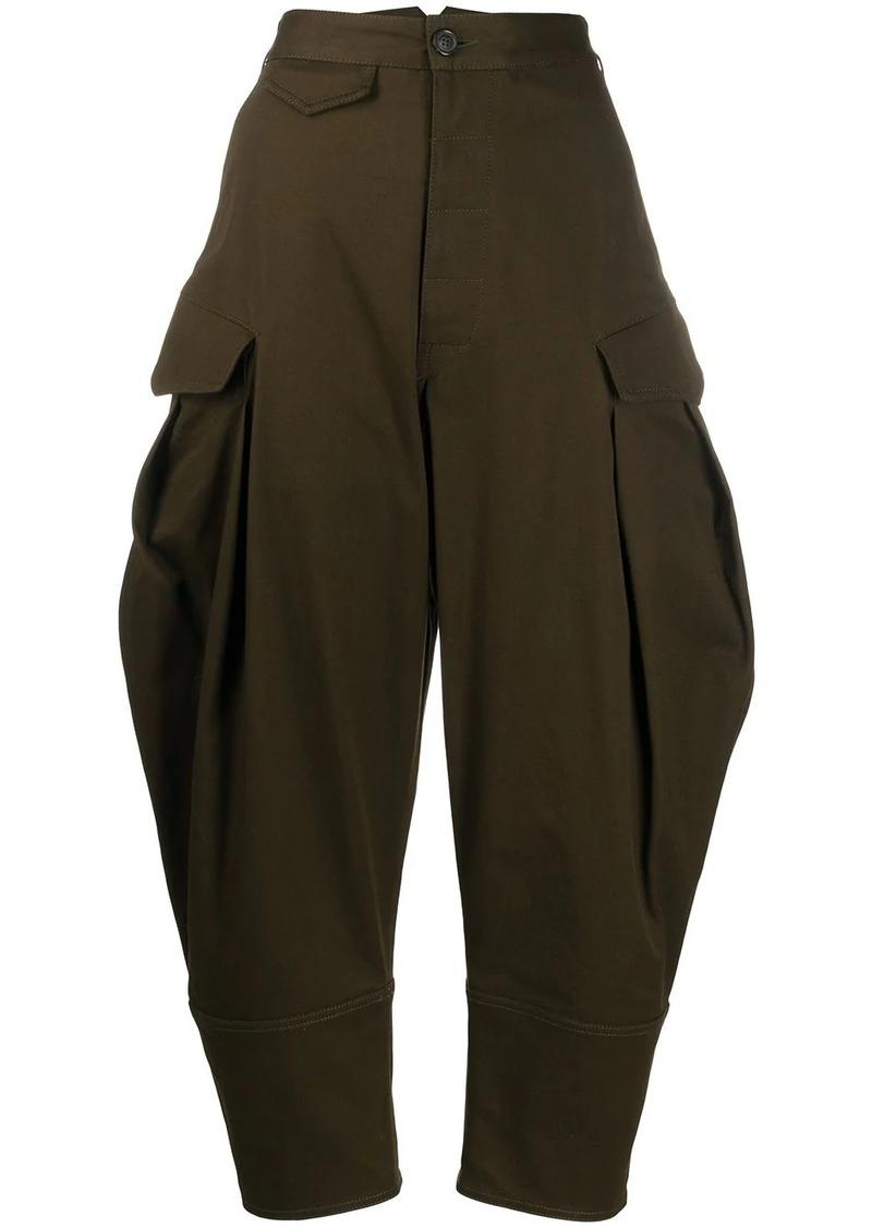 Dsquared2 flap-pocket cocoon-leg trousers