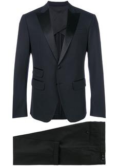 Dsquared2 satin trim two-piece suit