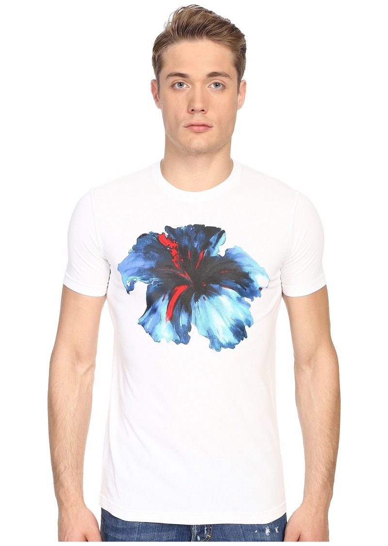 DSQUARED2 Sexy Slim Fit Hibiscus Tee