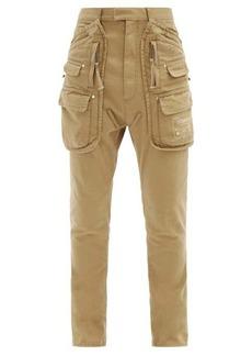 Dsquared2 Sharpei cotton-twill cargo trousers