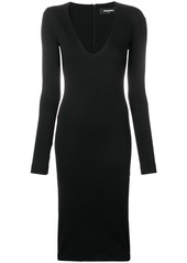 Dsquared2 silhoette fitted midi dress