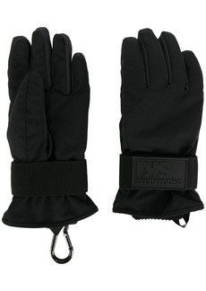 Dsquared2 padded technical ski gloves