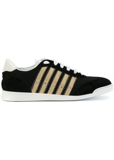 Dsquared2 sneakers with gold detail - Black