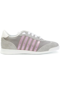 Dsquared2 sneakers with pink detail - Grey