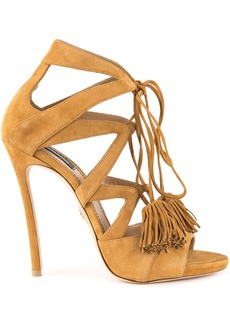 Dsquared2 tassel tie sandals - Brown